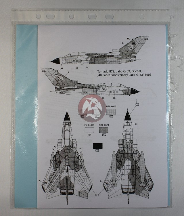 Peddinghaus Industry Singapore: Peddinghaus 1 48 Tornado IDS Markings '40th Anniversary
