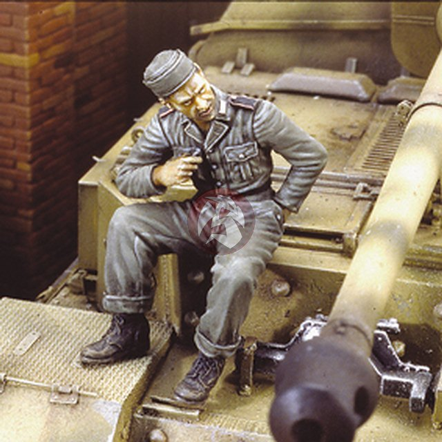 royal model 1 35 german ferdinand tank crew part 1 wwii 3. Black Bedroom Furniture Sets. Home Design Ideas