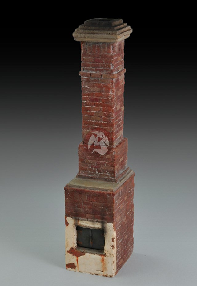 Royal Model 1/35 Russian House Fireplace and Chimney WWII [Plaster ...