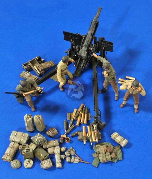 135 M101 105mm Howitzer  M101 Howitzer Wwii